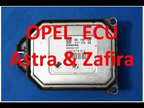 How to fix Opel Astra and Zafira ECU / Siemens - GM Vauxhall 5WK9