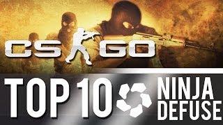 CS:GO - Top 10 Ninja Defuses! #2