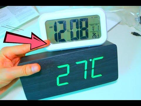 Просто Крутые Настольные Часы в довесок к дешевке Электронный Будильник Календарь + Термометр