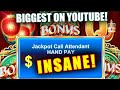 INSANE JACKPOT ON FU DAO LE HIGH LIMIT / $88 BET BRINGS GOOD FORTUNE JACKPOTS ➜ BIG SLOT MACHINE