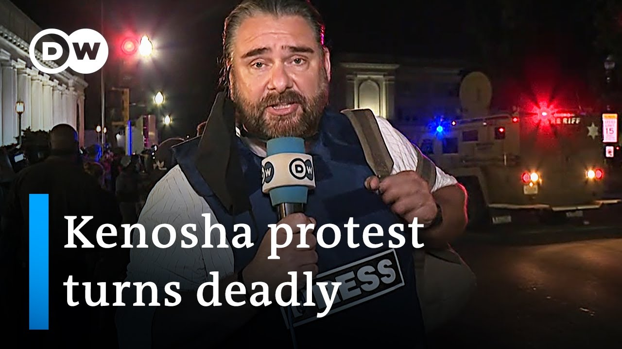 At least one person shot dead as Kenosha Black Lives Matter protests continue | DW News