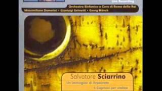 Salvatore Sciarrino - Sei Capricci for solo violin (1975-76)
