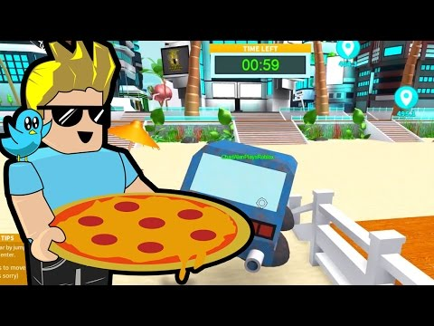 Roblox / Sunset City / Pizza Delivery! / Gamer Chad Plays