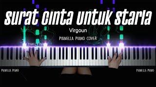 Download lagu Surat Cinta Untuk Starla - Virgoun   Piano Cover by Pianella Piano