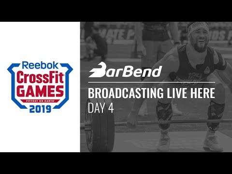 2019 Reebok CrossFit Games Day 4 — LIVE OFFICIAL Stream