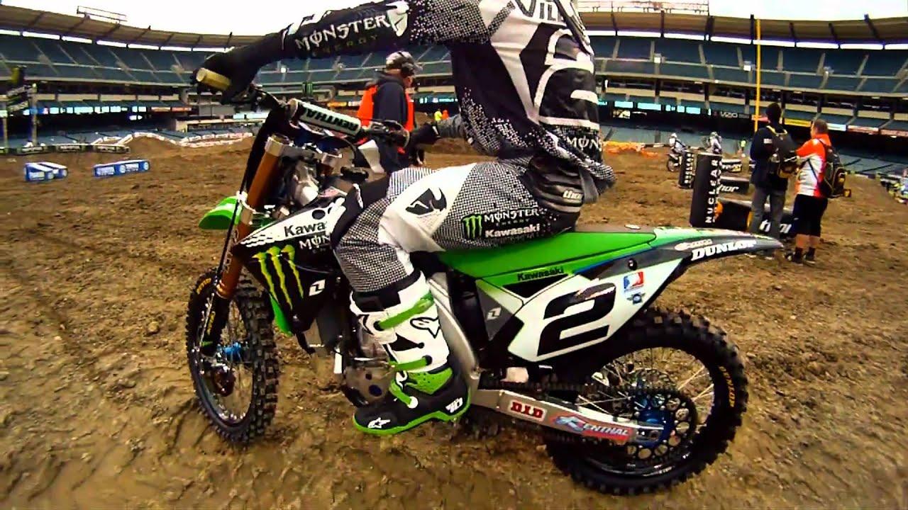 GoPro HD Monster Energy Supercross 2011 Opening Day At Anaheim Stadium