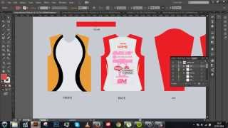 Long Sleeved Jersey (AI) Tutorial! [Template Included]