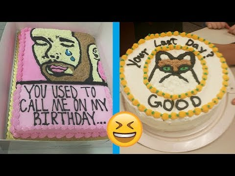 Hilarious Cakes That Express Exactly What They Were Feeling