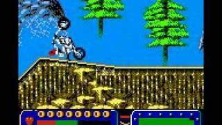 Evel Knievel (Game Boy Color) with commentary