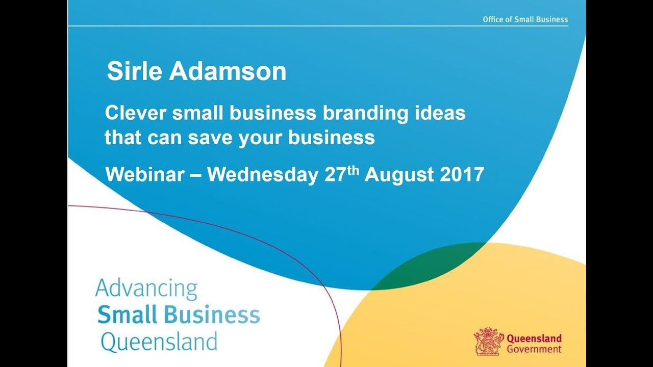 clever small business branding ideas that can save your business osbclever small business branding ideas that can save your business osb webinar