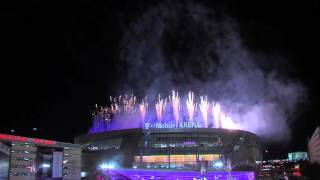 T-Mobile Arena Grand Opening Fireworks 4.6.16