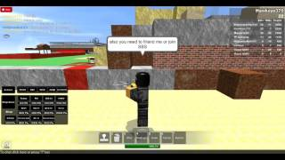 Roblox Episode 1: Build a Hideout and Fight