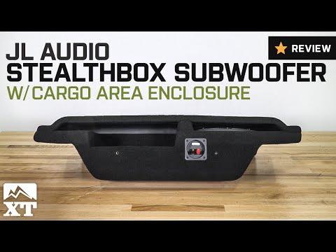 Jeep Wrangler JL Audio Stealthbox Subwoofer w/ Cargo Enclosure (2007-2017 JK 2-Door) Review