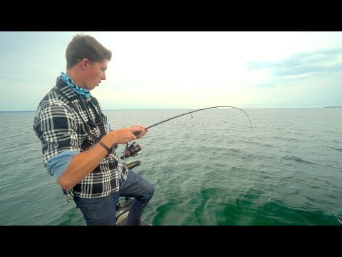 I LOST a Bet! -- Fishing The Great Lake
