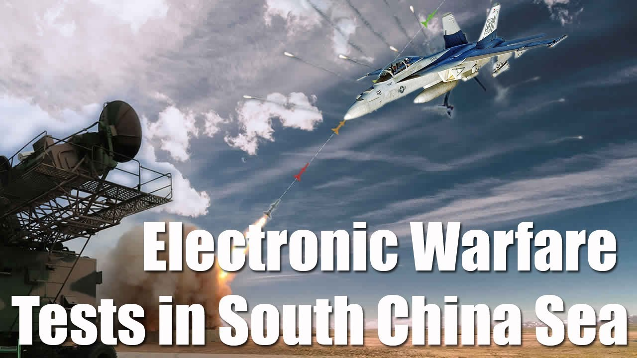 Image result for China 'Quietly' Conducts     Electronic Warfare Tests    in South China Sea