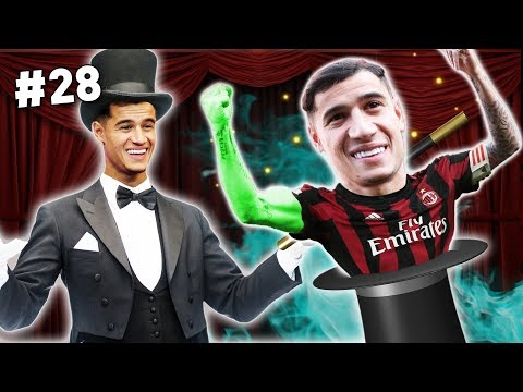O COUTINHO FEZ MÁGICA! 🎩 | Modo Carreira #28 - Milan (FIFA 18)