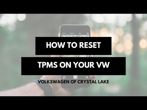 How to reset Tire Pressure Monitoring System in your VW with Trevor at Volkswagen of Crystal Lake