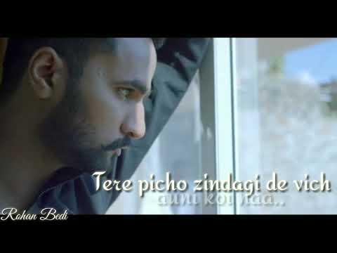 Sad whatsapp status lyrics video of Song    Warka    Naveed Aktar   edit by Rohan Bedi.