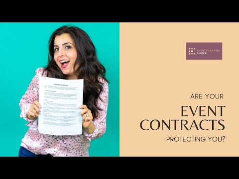 Are Your Event Contracts Protecting You?