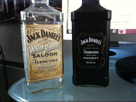 Jack Daniel's White Rabbit Saloon Et Jack Daniel's Edition  Anniversaire  - Produits Américains.