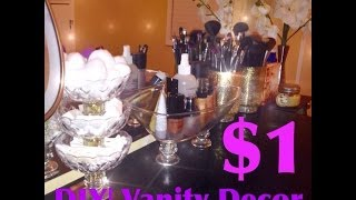 Diy|makeup Vanity Display $1store