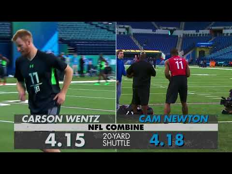 QB Faceoff: Carson Wentz vs. Cam Newton | NFL Player & Stats Comparison