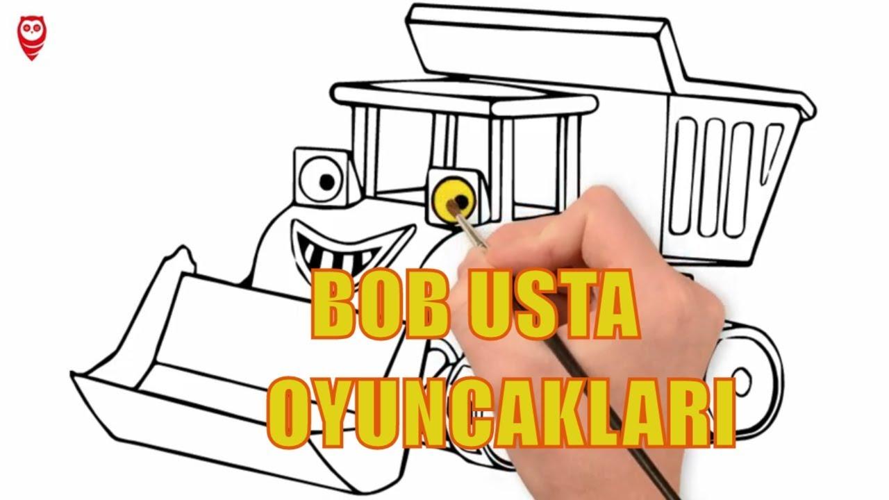 Bob Usta Kamyon Muck Cizgi Film Boyama Sayfasi Nasil Yapilir Youtube