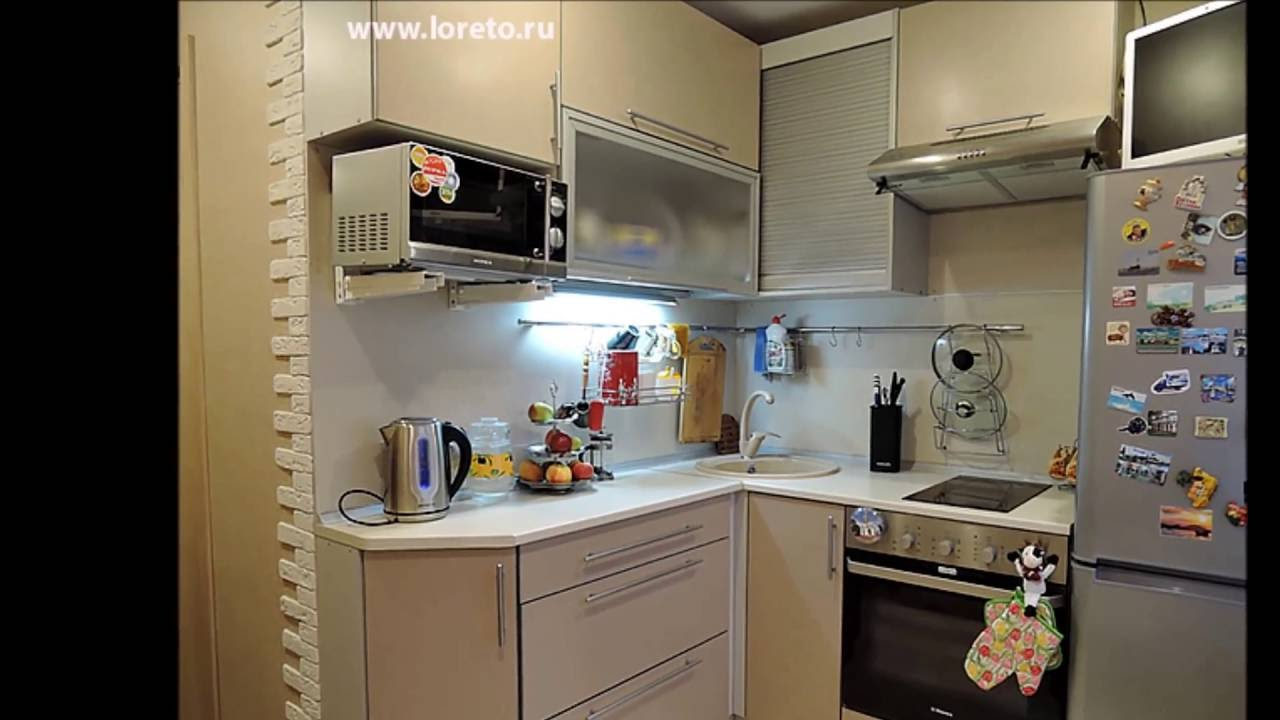 Малогабаритные кухни на заказ - фото и дизайн - YouTube