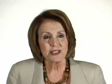 Nancy Pelosi on Her Favorite Political Blogs