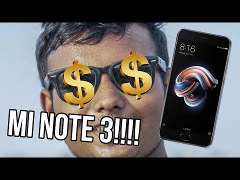 Xiaomi MI Note 3 Review | Almost Budget Flagship Killer ? | ATC