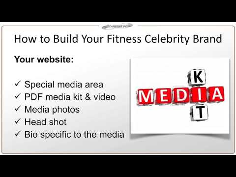 How to Build Your Fitness Celebrity Brand