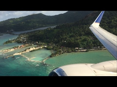 United Airlines B737-800 - Chuuk to Guam!