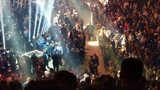 George Groves ring entrance for Chris Eubank Jr. at Manchester Arena