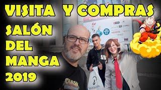 SALÓN DEL MANGA 2019 BARCELONA....visita y compras