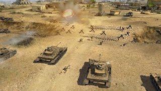 ЭПИЧНАЯ СТРАТЕГИЯ ПРО ВОЙНУ В АФРИКЕ ! В Тылу Врага 2 Лис Пустыни