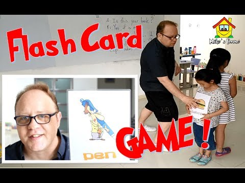 ESL Tips - Flash Card Game - Mike's Home