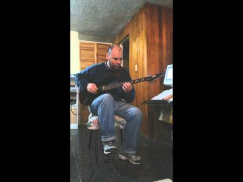 """Ronny Jordan """"After Hours"""" chords tutorialand solo by Christian Rueda"""