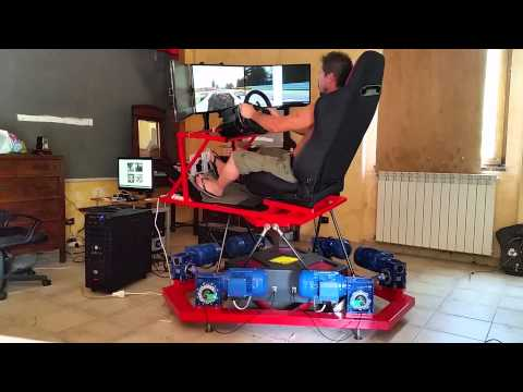 primo setting x-sim billo's 6 dof con project cars, SPA in Formula A