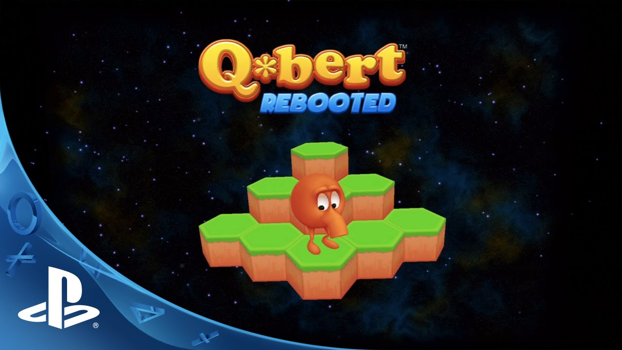 QBert Rebooted Trailer  PS4 PS3 PS Vita  YouTube
