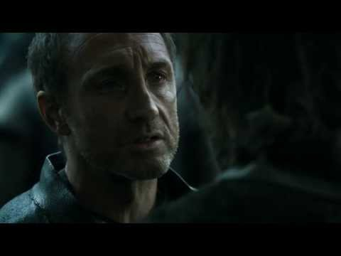Roose Bolton trolling Jaime Lannister  Game of Thrones