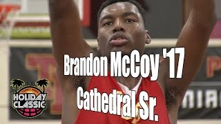 Brandon McCoy '17, Cathedral Senior Year, 2016 UA Holiday Classic