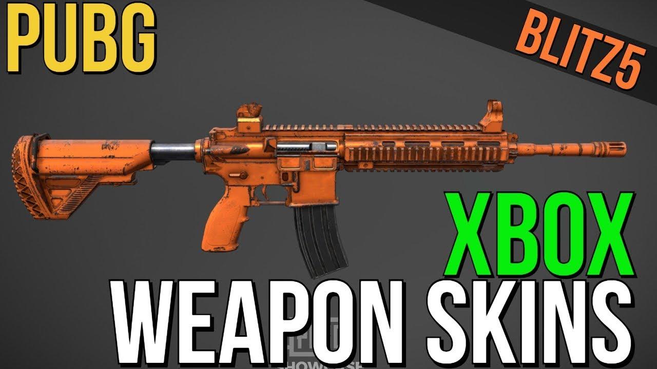 pubg xbox weapons list
