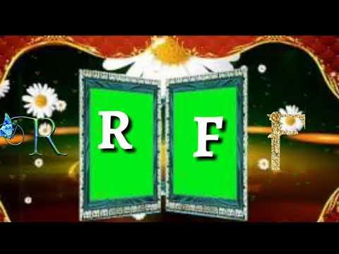 R Letter WhatsApp status F video song