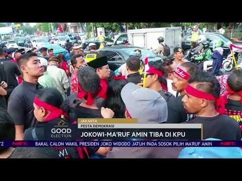Good Election 2018 - Live Report: Jokowi-Ma'ruf Amin Tiba di KPU