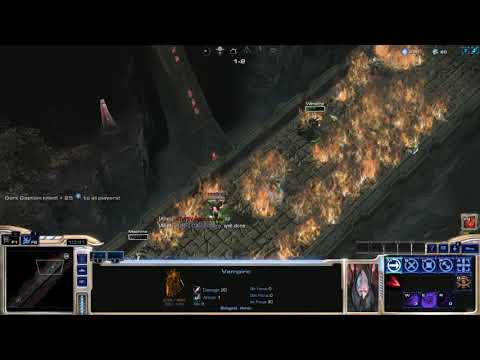 Starcraft 2 Arcade: Solemn Quest RPG #3 (Beyond/6 Curses As Vampire)