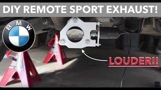 BMW Remote Sport Exhaust Cutout // E90 Muffler Bypass