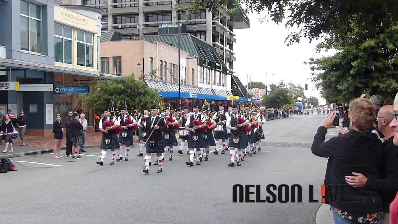 Roller skating new zealand - New Zealand Pipe Band Competition