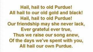 Purdue University - Fight Song