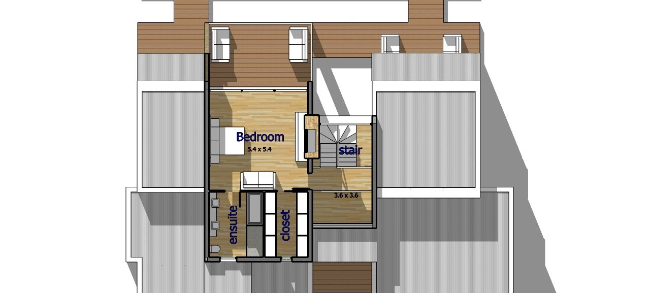A14 make your own floor plans a trebld and sketchup for Floor plans in sketchup