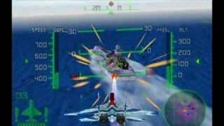 Aero fighter assault Volk Pacific ocean